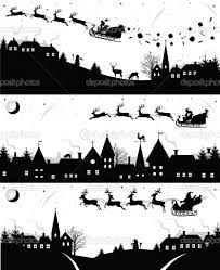 Image Result For Victorian Rooftops Silhouette Christmas