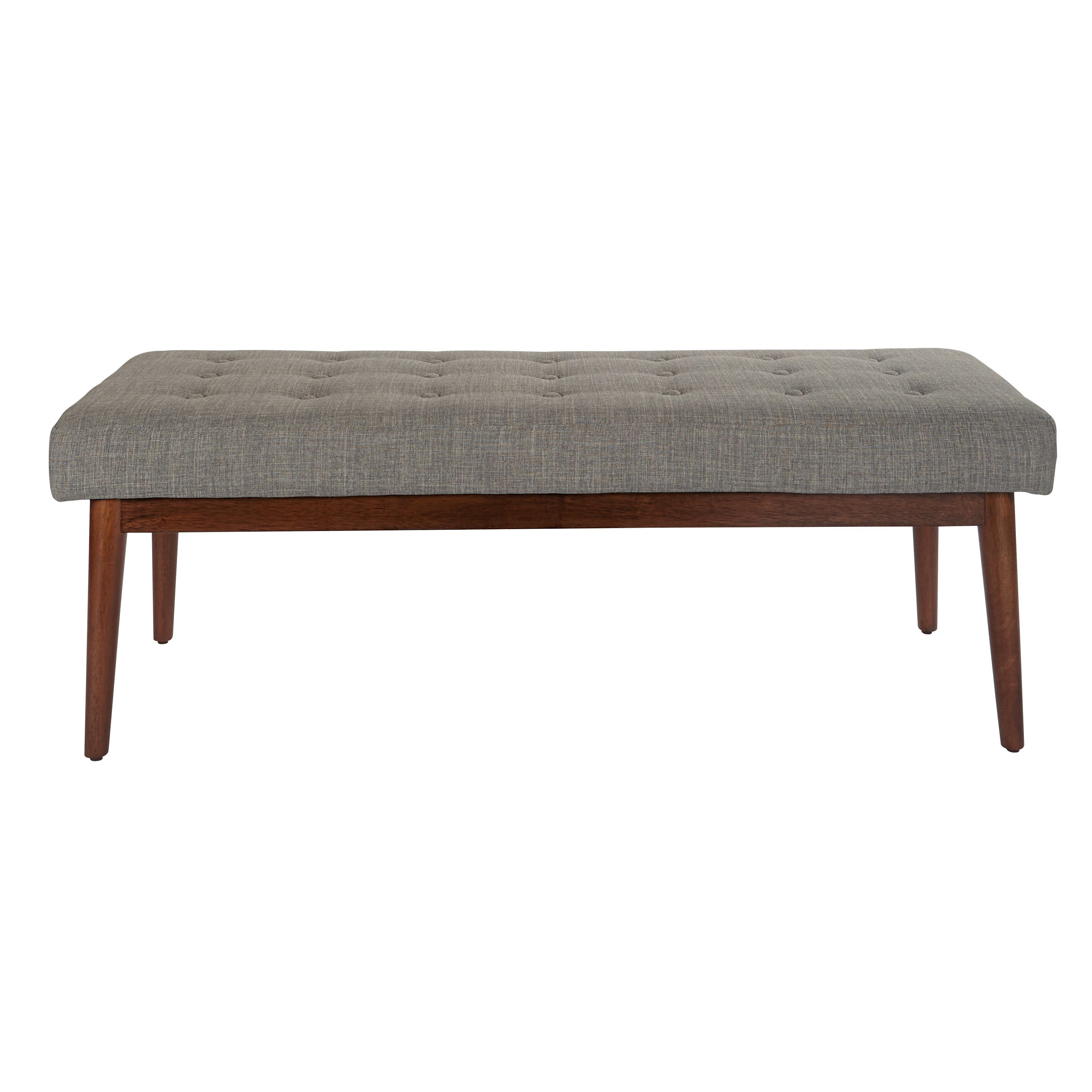 Stupendous Office Star Products Ave Six Fabric West Park Bench With Andrewgaddart Wooden Chair Designs For Living Room Andrewgaddartcom