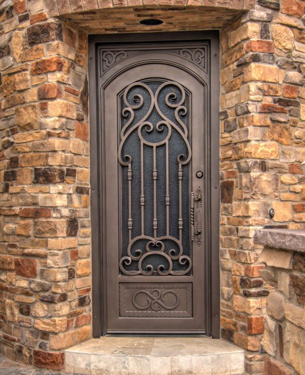 Verona Iron Entry Door By First Impression Security