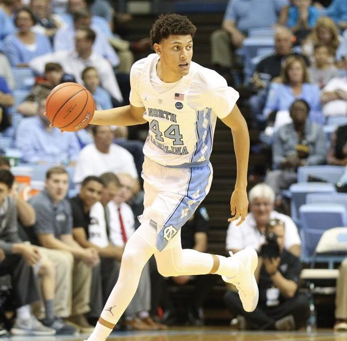 Justin Jackson North Carolina Basketball Jersey - White
