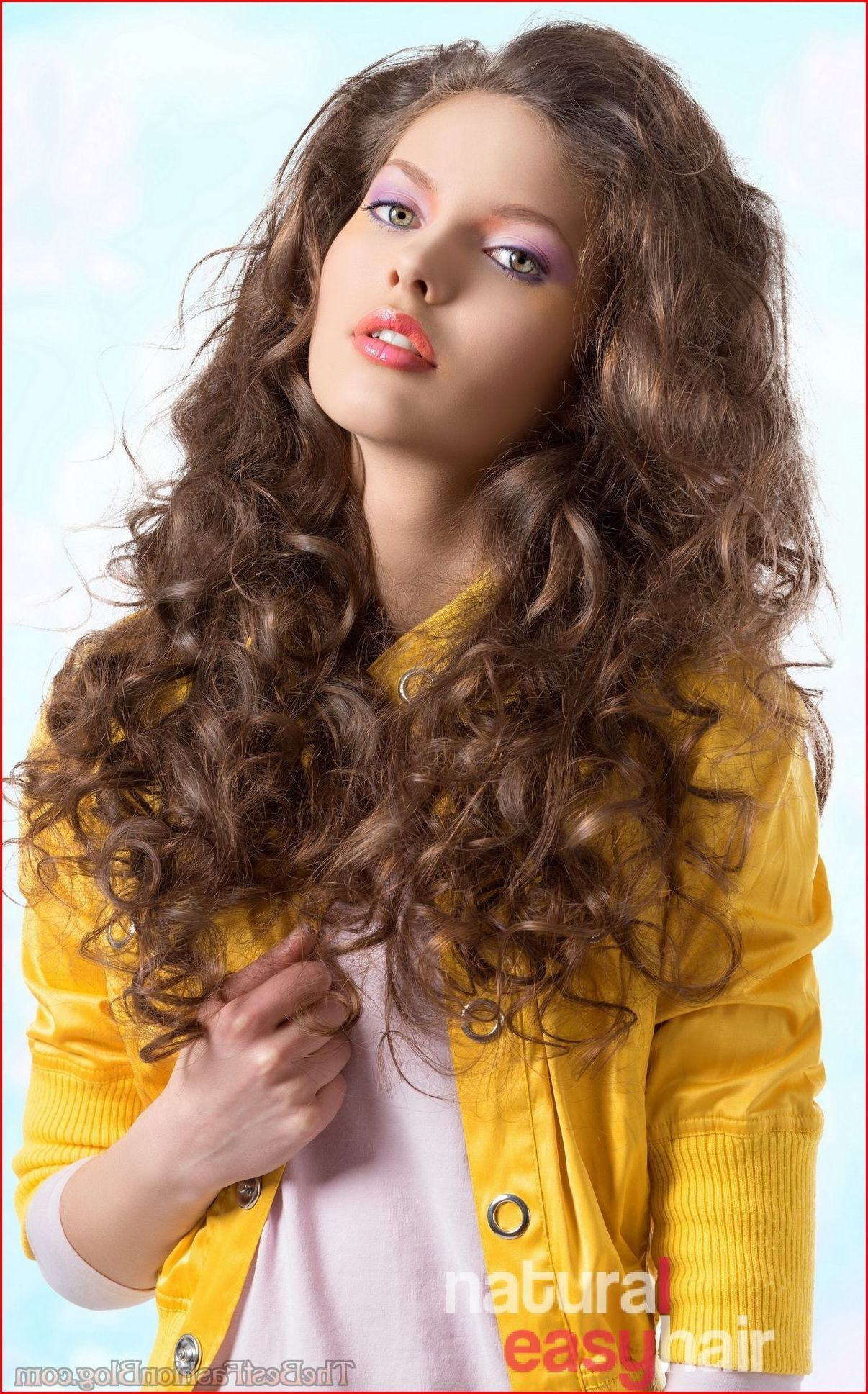 Curly hairstyles for long hair easy hairstyles in pinterest