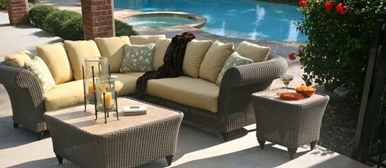 Broyhill Maxwell 5 Piece Sectional Outdoor Living Furniture