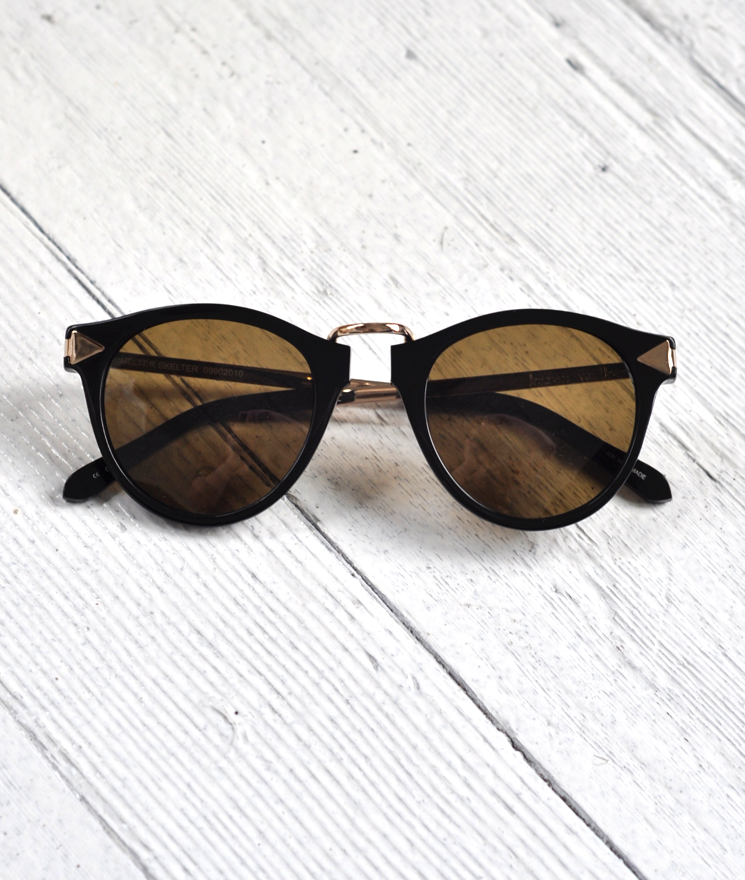 Helter Skelter sunglasses by Karen Walker in the Summerland shop.