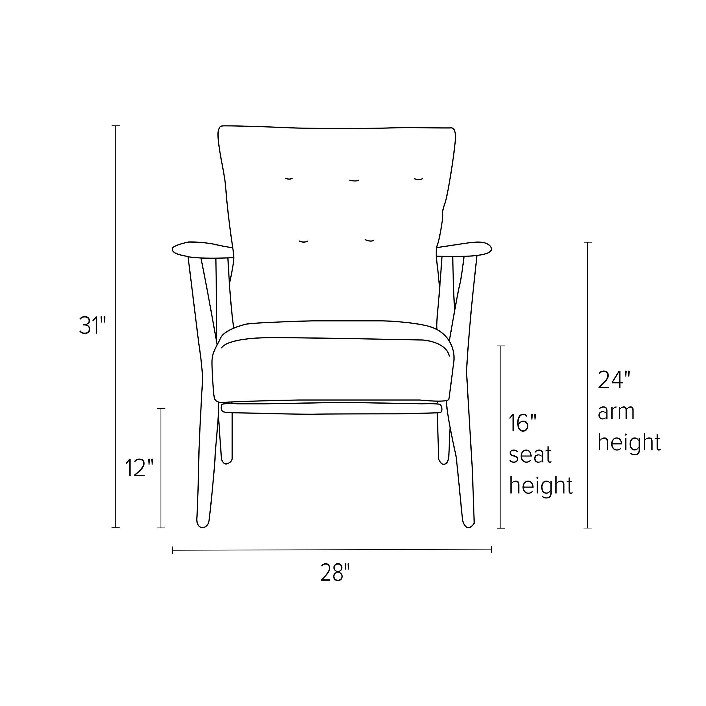 Jonas Boudin Accent Chair: Jonas Leather Lounge Chair & Ottoman