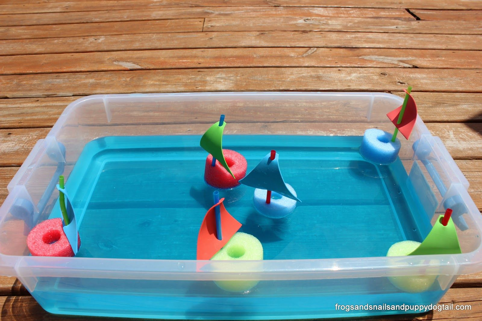 20 Water Bin Play Activities For Kids