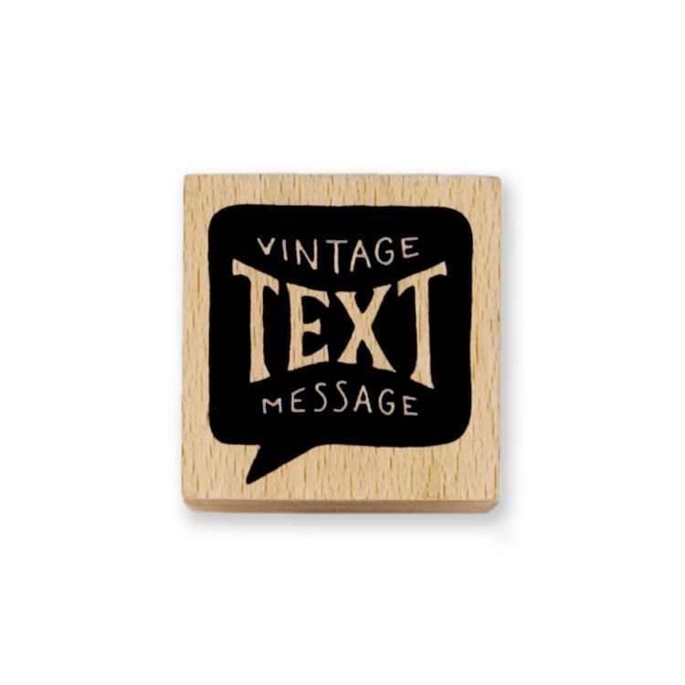 Vintage Text Message Stamp Vintage Text Pen Pal Gifts Pencil Gift