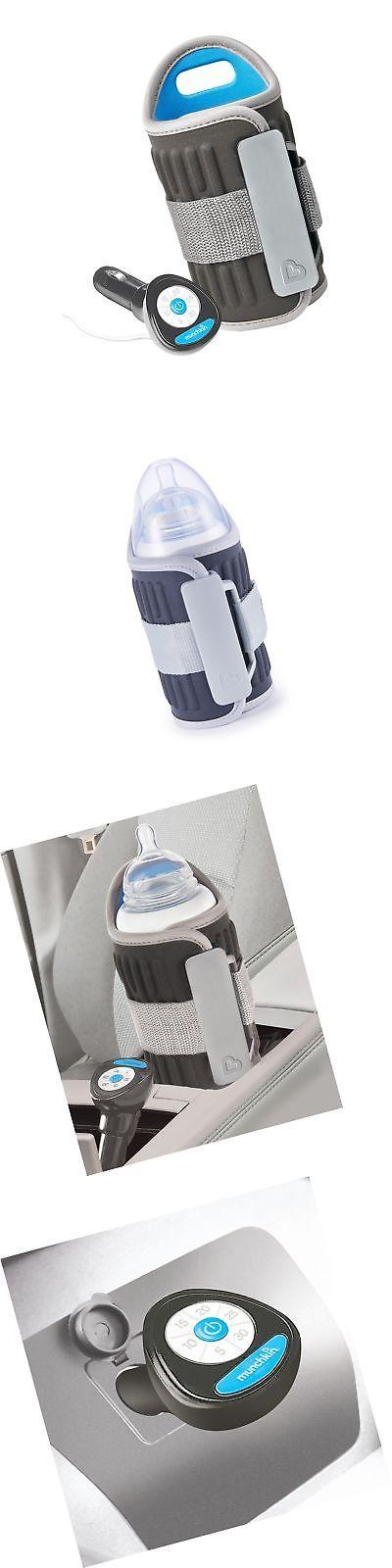 Munchkin Travel Baby Bottle Warmer. 12V Car Auto Heater Portable ...