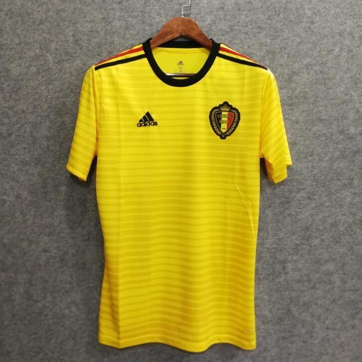 0a168814a 2018 Men Belgium Jersey Stadium Away Soccer Jersey World Cup Jersey Fanatics