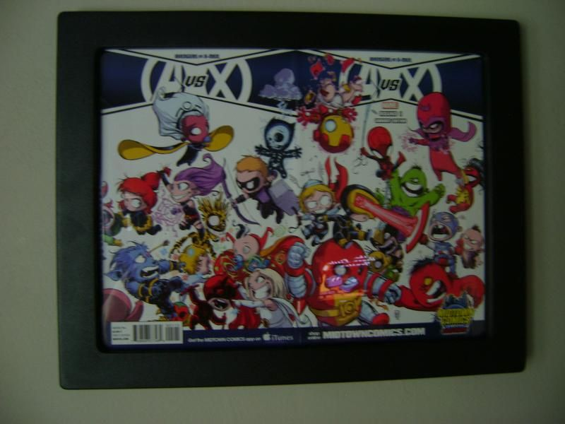 Our Newest Addition!!! The Comic book frame to display wrap around ...