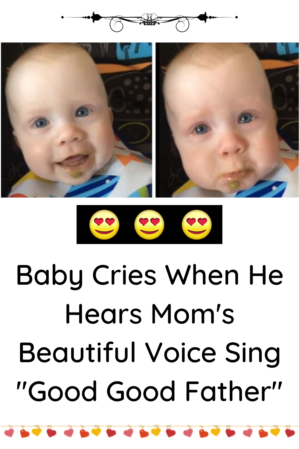 Baby Cries When Mom Sings : cries, sings, Softly, Sings, Priceless, Reaction, Hears, Mom's, Beautiful, Voice, Crying,, Father,
