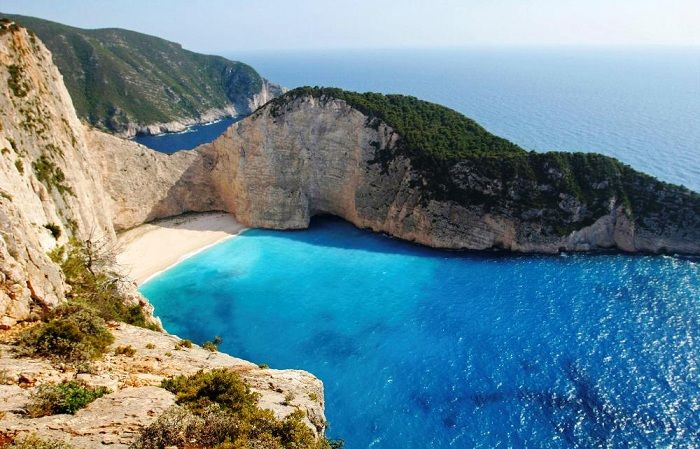 Zakynthos or Zante - as we'd say in English, or even Ζάκυνθος (if you're Greek) - is a Greek island in the Ionian Sea. It is the third largest island in the Ionian Sea, located off the west coast of Greece. The island is named after Zacynthos, son of legendary Arcadian chief Dardanos.