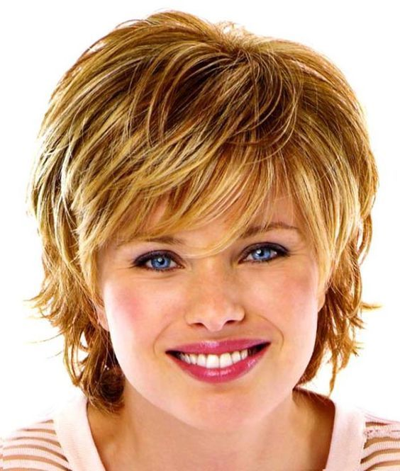 Cool Short Hairstyles For Round Faces Double Chin And Fine Thin Hair