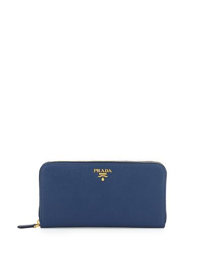 52c60b62444c V2B77 Prada Saffiano Organizer Wallet, Dark Blue (Bluette)   wallets ...