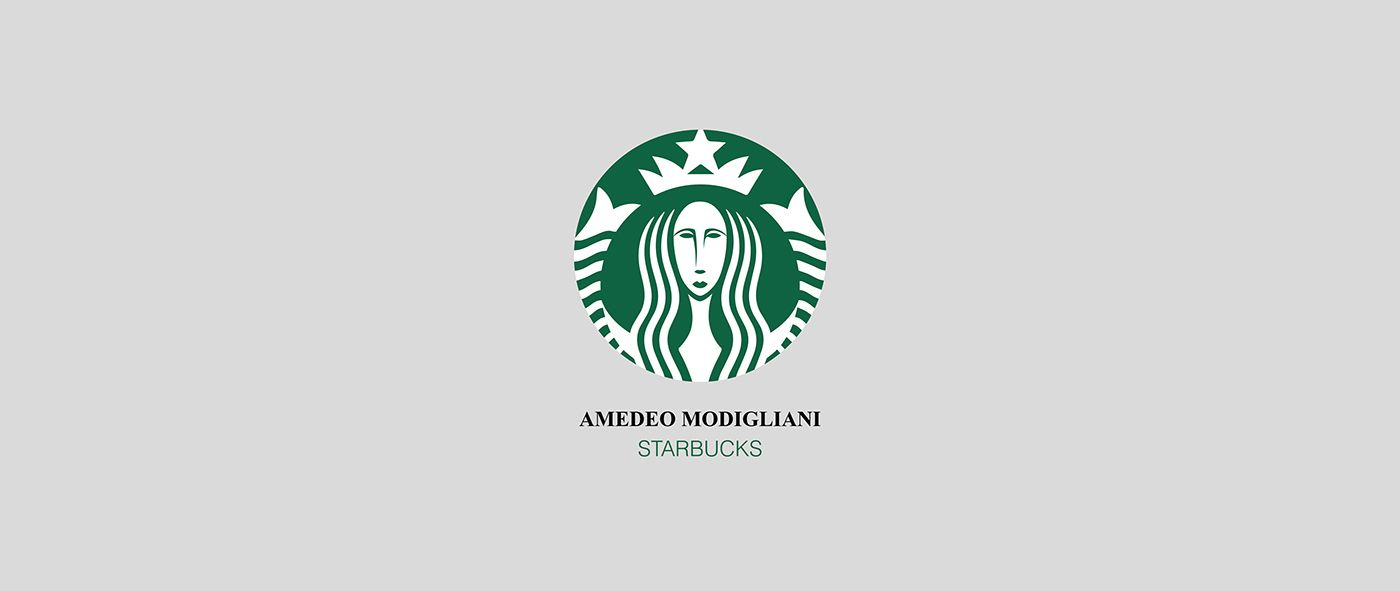 Starbucks by Amadeo Modigliane by Francesco Vittorioso