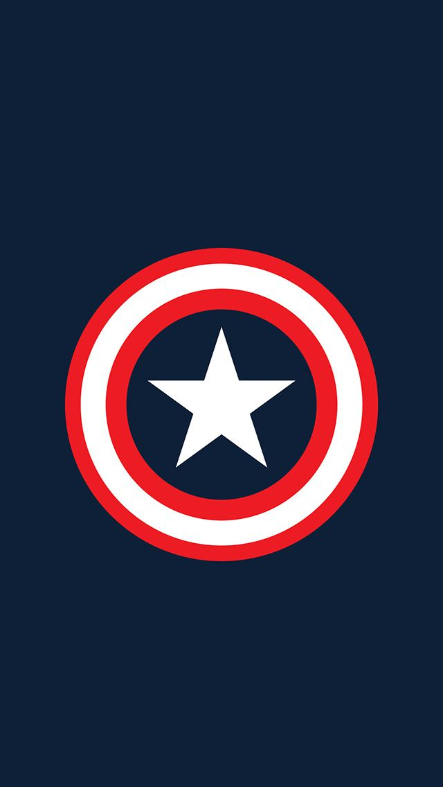 Captain America Logo Wallpaper Super Heros Pinterest Captain