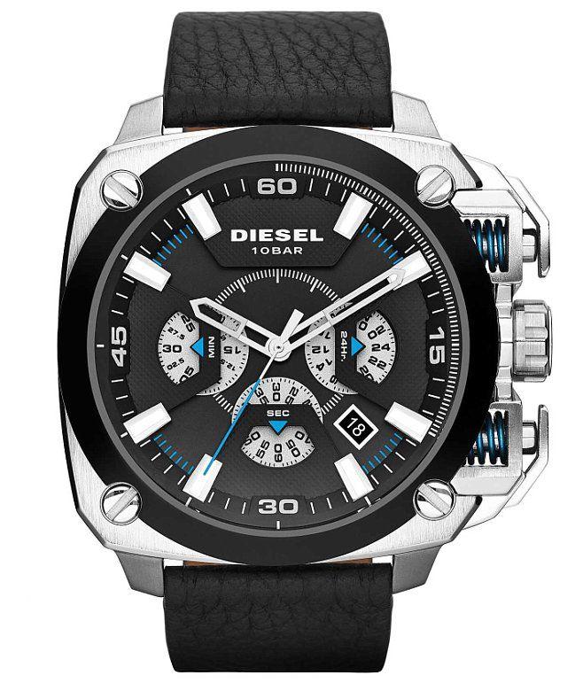 ba8a15cd646d Diesel Bamf Watch - Men s Watches in Black