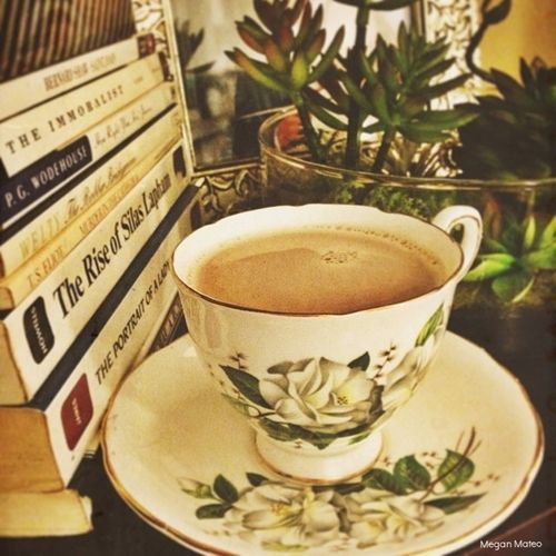 Tea in Grandmother's china.  This is so beautiful! Thank you for...