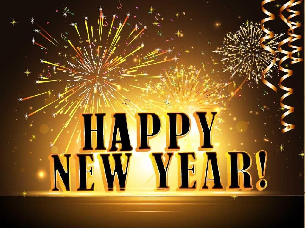 happy new year 2019 hugs and best wishes