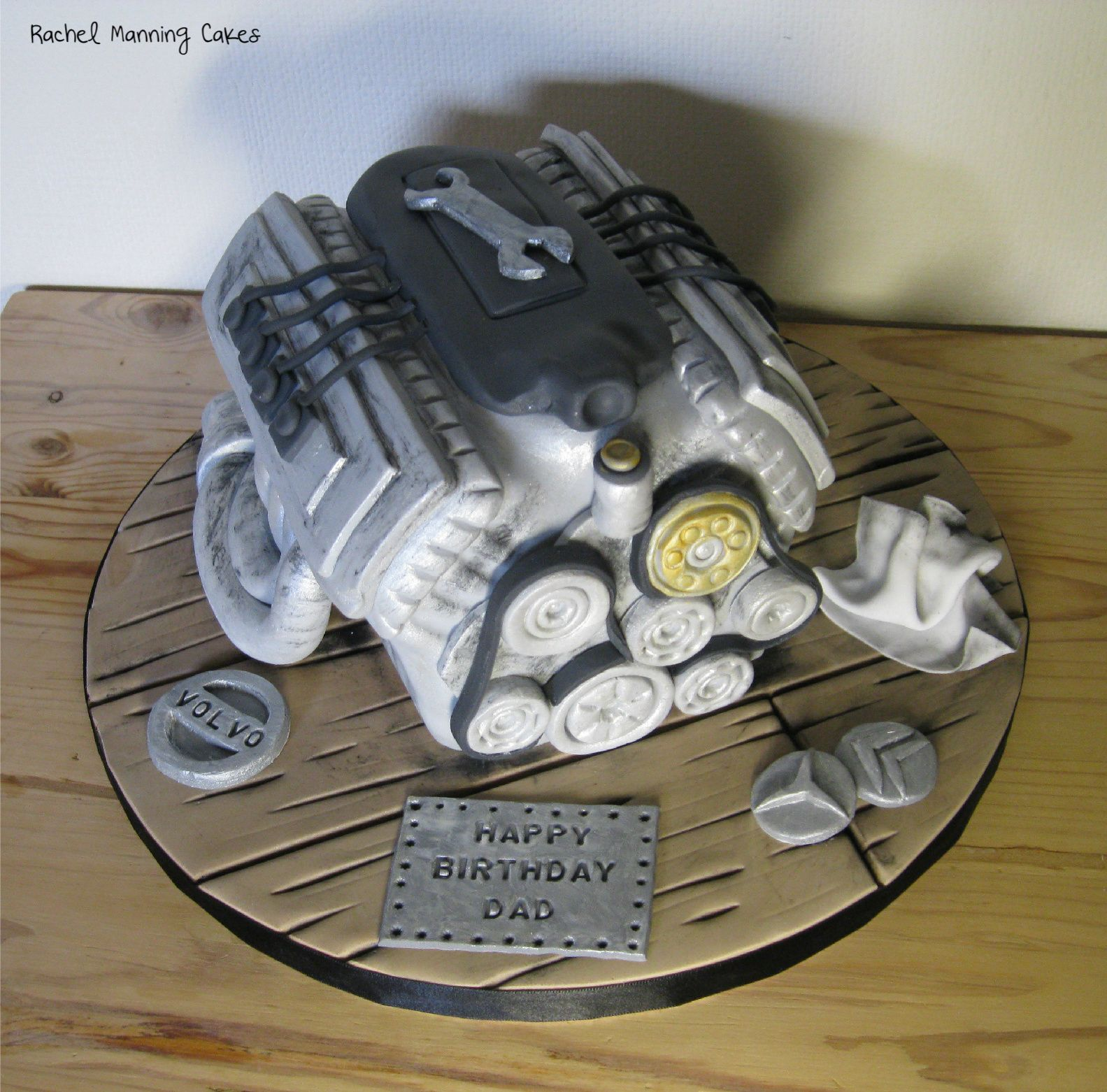 Car Engine Cake Cakes Pinterest Car Engine Engine And Cake - Car engine birthday cake