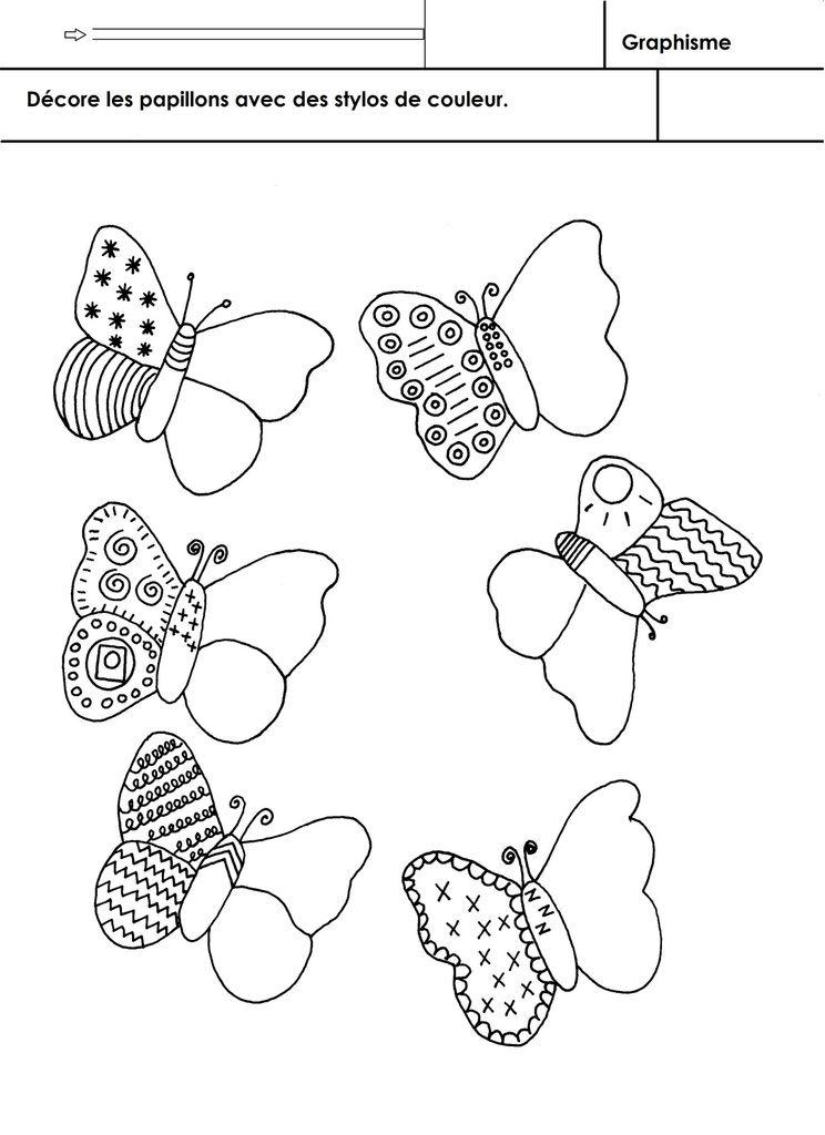 Les animaux du jardin graphisme nouveaut s chenille papillon projet papillon et cole - Les animaux du jardin ...