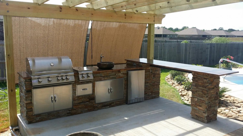 Blaze 4 Burner Grill Doors Outdoor Kitchen Google Search Outdoor Kitchen Composite Wood Deck Kitchen Counter