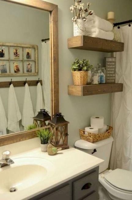 super bathroom farmhouse shower shelves 59 ideas  small