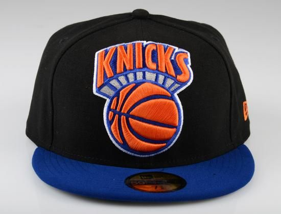 wholesale dealer 2bb94 d152d New York Knicks Mighty Two-Tone 59Fifty Fitted Baseball Cap by NEW ERA x NBA
