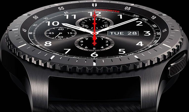 Samsung Gear S3 Watch Has Better Features Performance Gear S3 Frontier Smart Watch Samsung Smart Watch