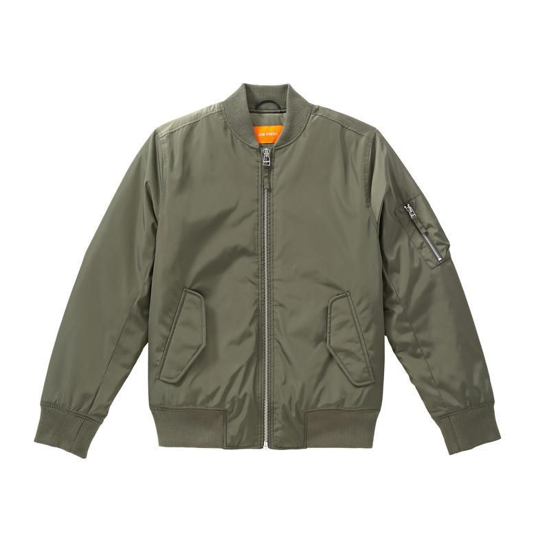 Winter Shopping: The Puffer Jackets Our Editors Are Buying for Winter 2015 - Joe Fresh Men's Bomber, $79; at Joe Fresh