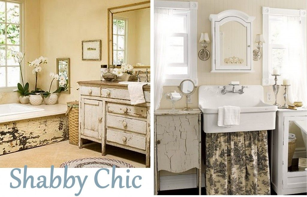 Shabby Chic Bathroom from \