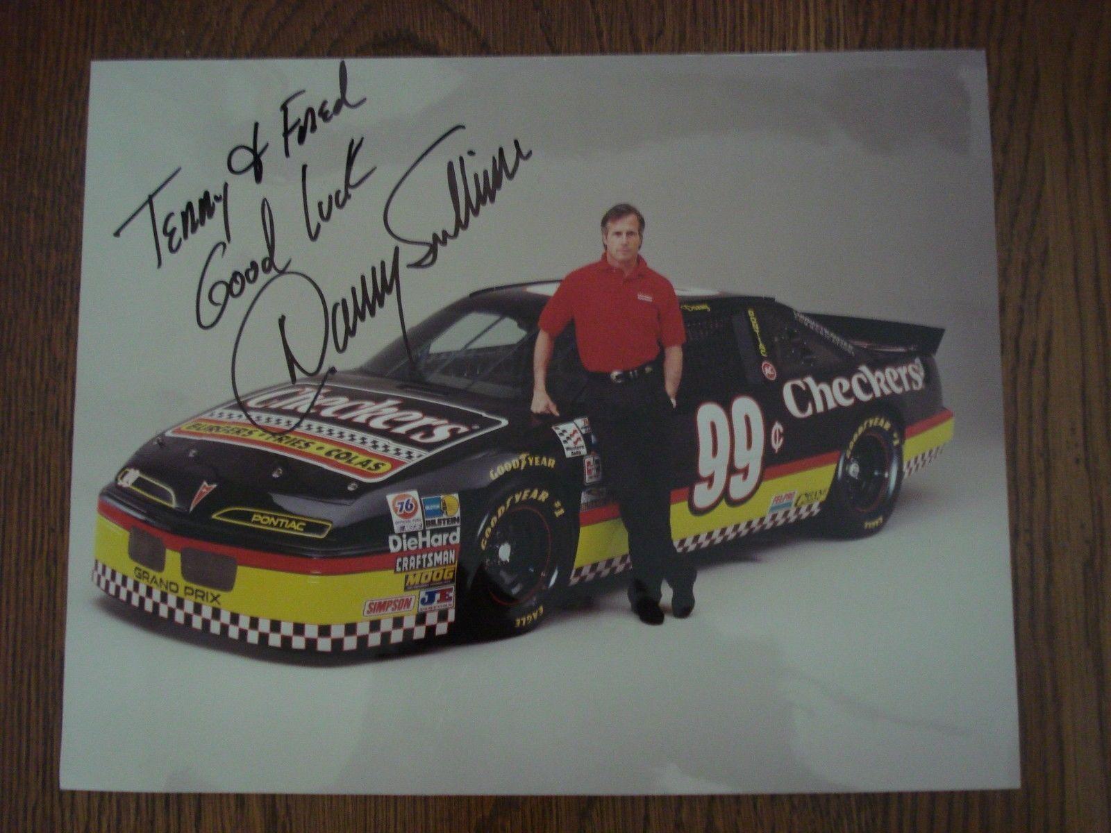 Paint schemes coca cola 600 free download image about all car type - Autographed Danny Sullivan Nascar Race Driver Checkers Photo 8x10