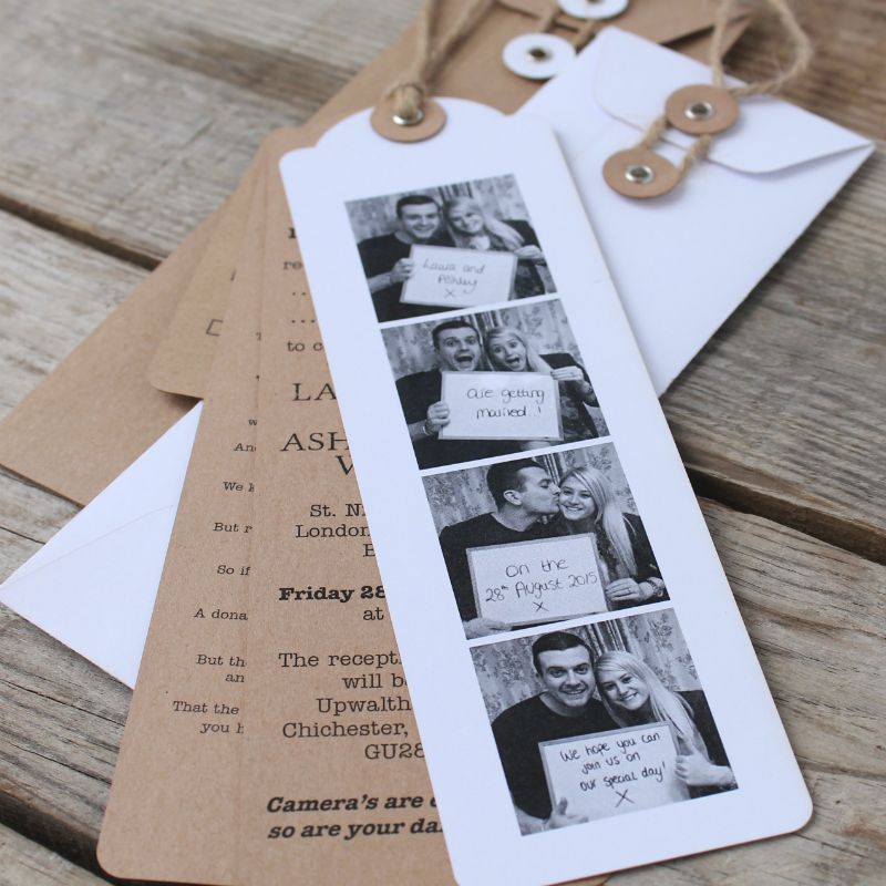photo booth wedding invitations you have the photos taken we will