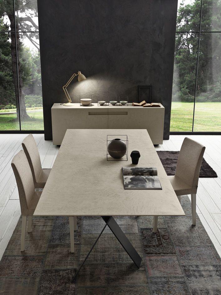Prachtige tafel uit de collectie van Presotto Italia, verkrijgbaar ...
