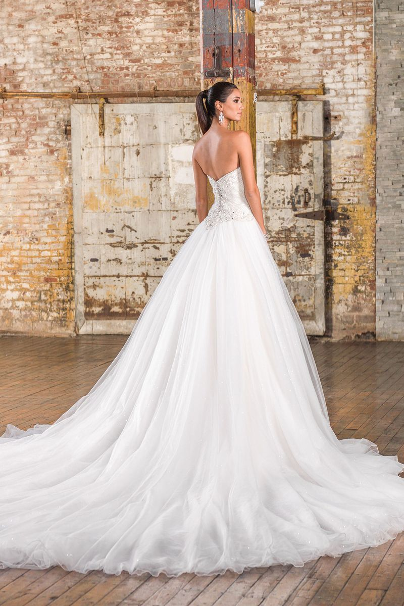 Justin alexander signature style 9840 sequin tulle