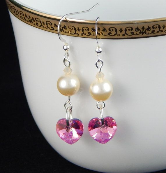 Check out this item in my Etsy shop https://www.etsy.com/listing/227942995/wedding-jewelry-pearlwedding-earrings