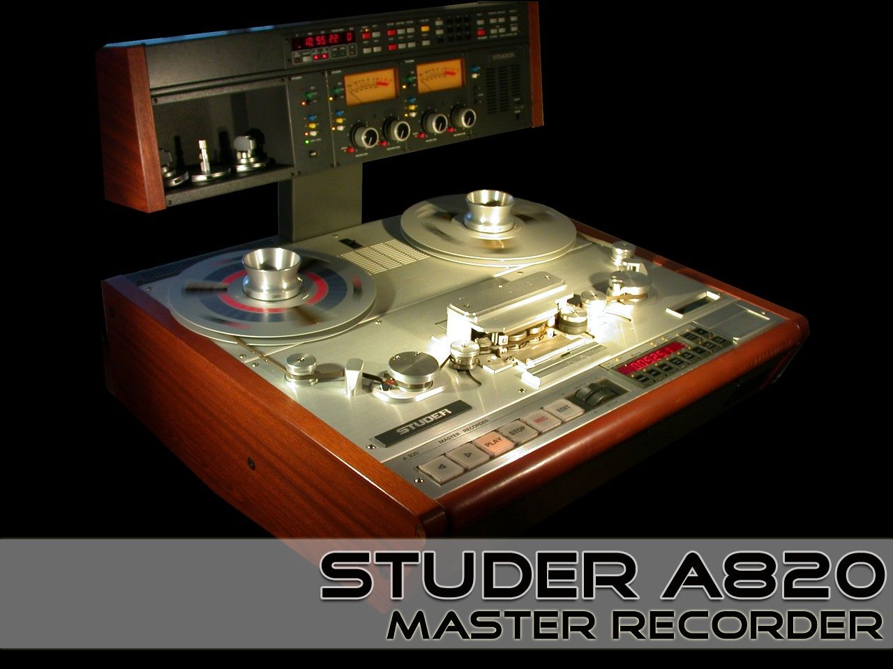 Studer A820 Master Recorder | Vintage Stereo's and Pro Audio