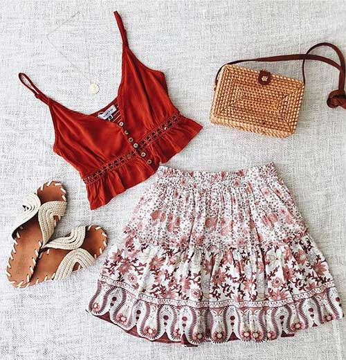 25 Boho Inspired Outfit Ideas