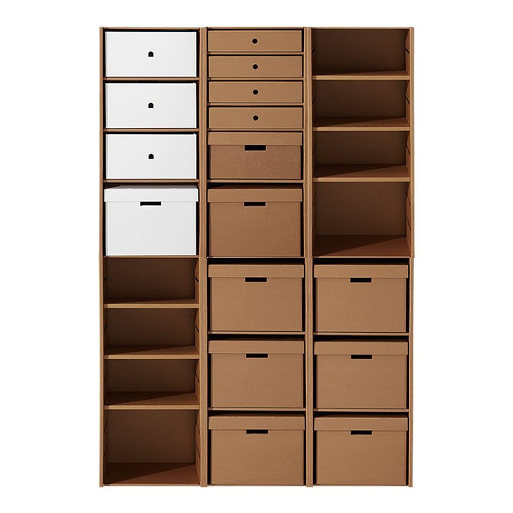 El papel del reciclaje: muebles hechos con cartón y diarios | Eco ...
