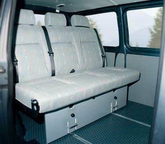 2000eu - Reimo - Sitzbanksystem Variotech 303/333 für VW T5