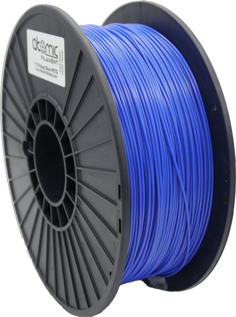 1.75 mm Royal Blue Opaque PETG Atomic Filament 1kg Spool