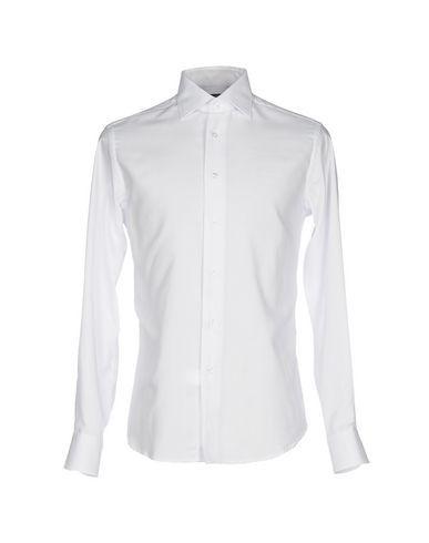 ZANETTI Men's Shirt White 15 ¾ inches-neck