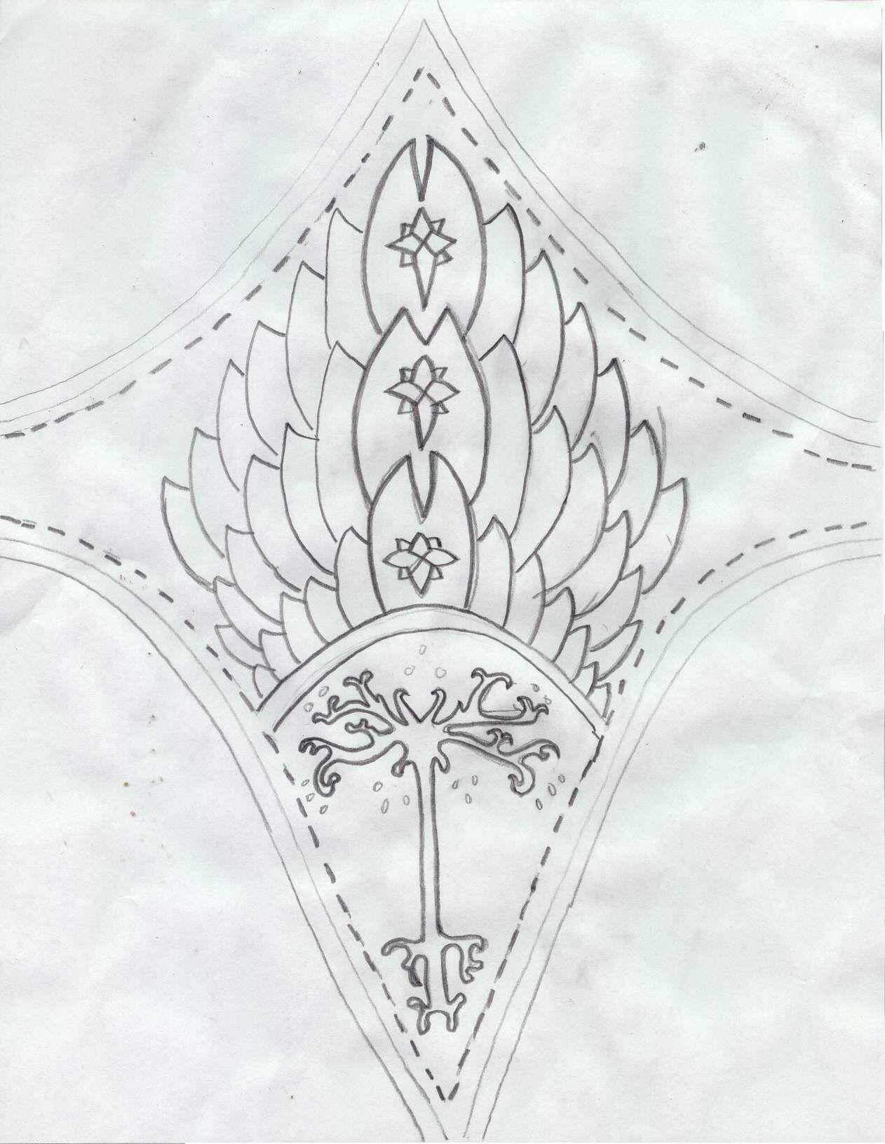 Vambrace Pattern