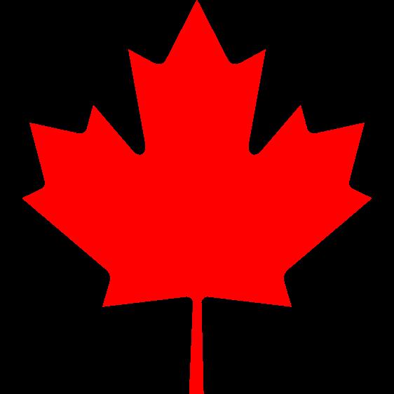 562px Canada Maple Leaf Svg Png 562 562 Canada Leaf Canada Maple Leaf Canada