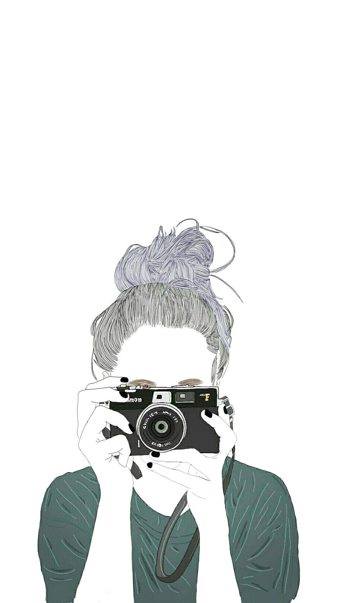 Achtergrond Gambar Gambar Potret Ilustrasi Karakter