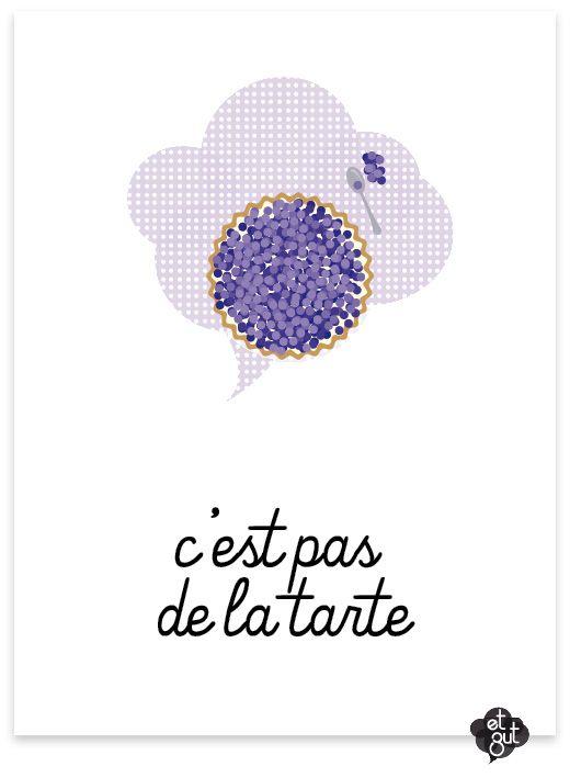 C'est Pas De La Tarte : c'est, tarte, Zut..., C'est, Tarte, French, Expressions,, Phrases, Français,