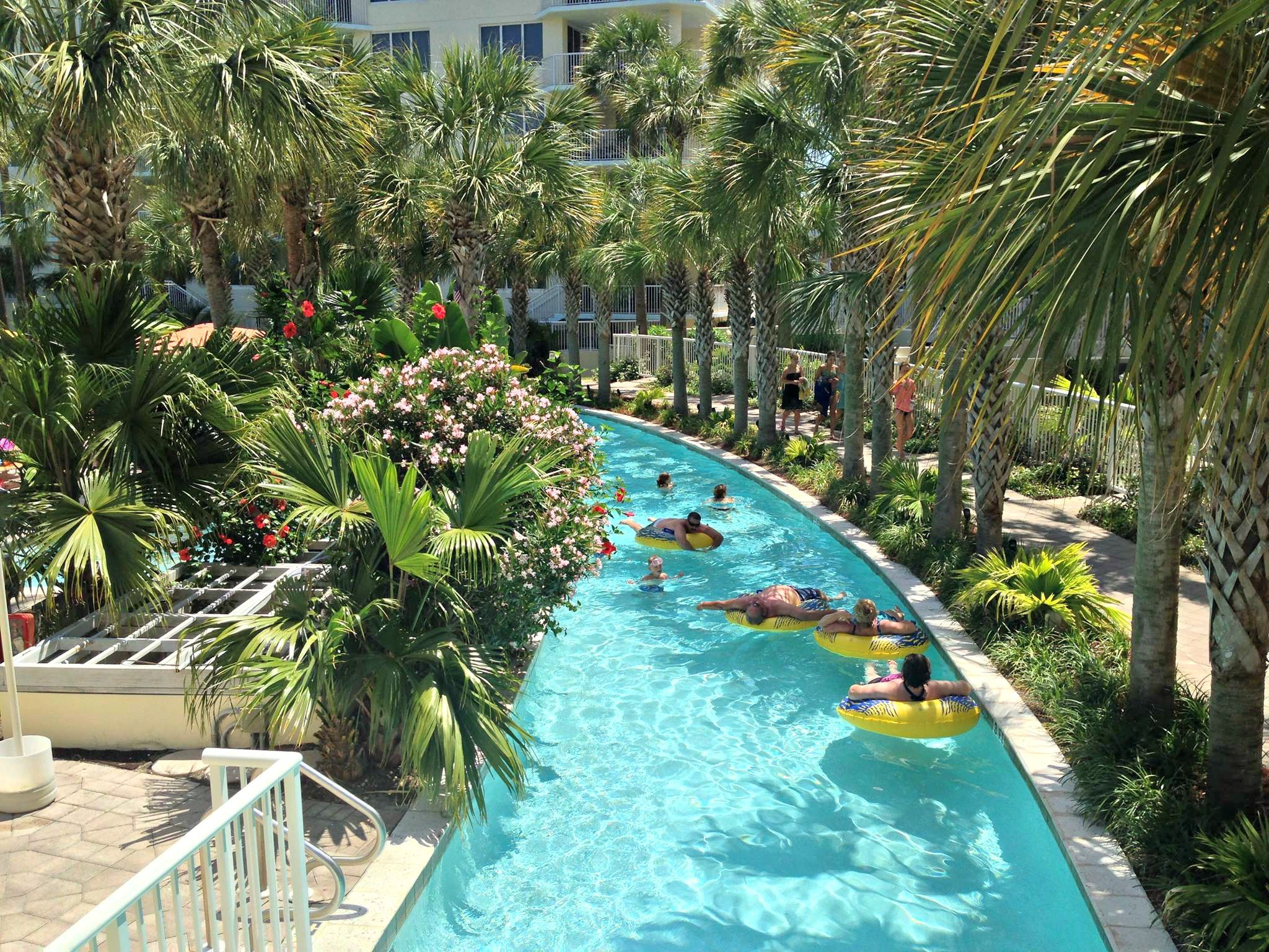 Lazy River At Destin West Beach And Bay Resort Florida