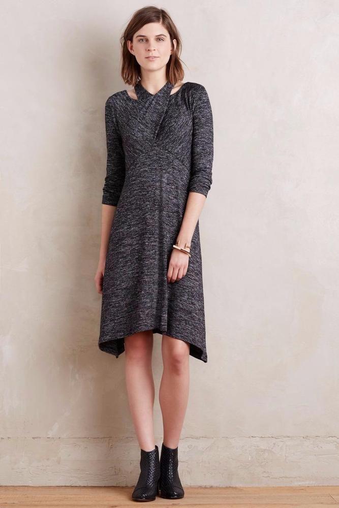 e52d4cfe4c55 NEW ANTHROPOLOGIE Size XS $148 Juliet Dress Maeve Gray Grey Womens Stretch  NWT #MaeveAnthropologie #Shift #WeartoWork