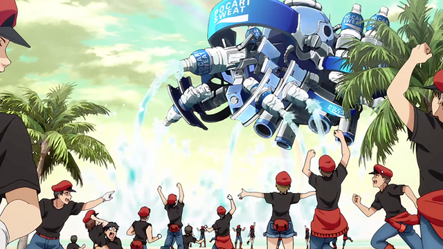 Cells At Work And Pocari Sweat Team Up To Help You Stay Hydrated Pocari Sweat Anime Sweat