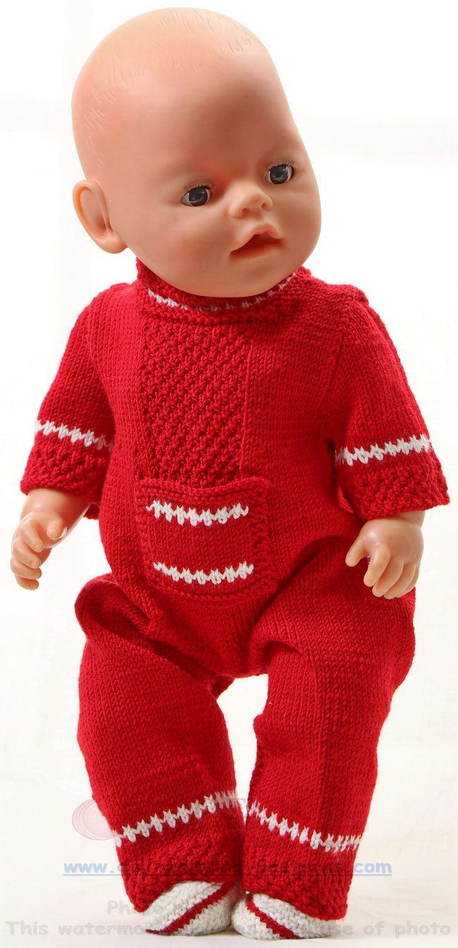 Knitting pattern for dolls clothes - Knit great doll clothes with a ...