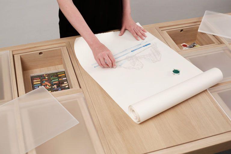 Projet Etudiant Workbench L Etabli De Laura Mrksa Blog Esprit Design Rangement Cache Etabli Rangement Modulable